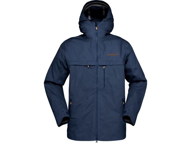 Norrøna Svalbard Cotton Jacket Herre indigo night
